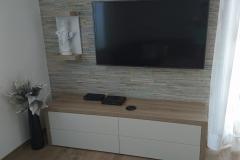 Opremljena moderna dnevna soba