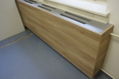 Moderno izoliranje radiatorjev kot del pisarniškega pohištva