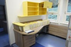 Zaokrožena pisalna miza za še večjo efektivnost hitrega dela z dokumenti