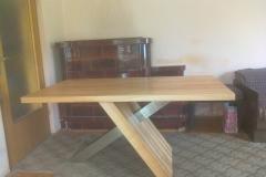 Pohištvo masivne jedilne mize