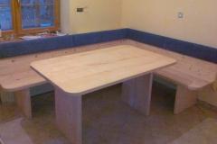 Pohištvo masivne jedilne mize po meri