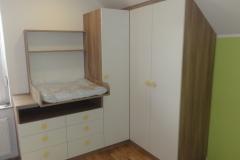 Moderna oprema otroške sobe