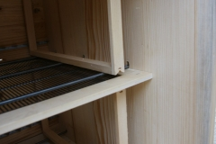Palice za satnice, dovolj močne za 10 polnih satnic medu