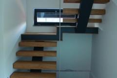 Moderne hrastove stopnice