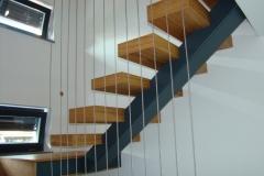 Hrastove moderne stopnice